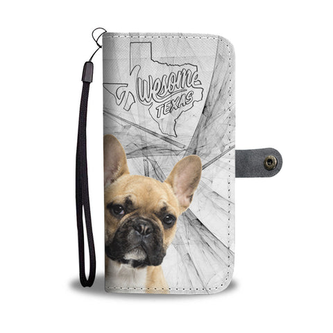 Awesome French Bulldog Print Wallet CaseTX State