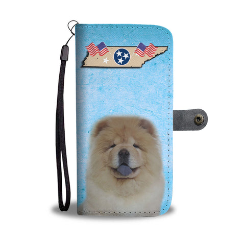 Chow Chow Print Wallet CaseTN State