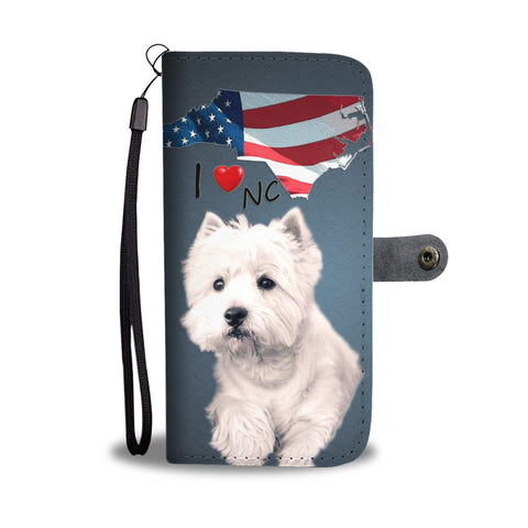 West Highland White Terrier Print Wallet CaseNC State