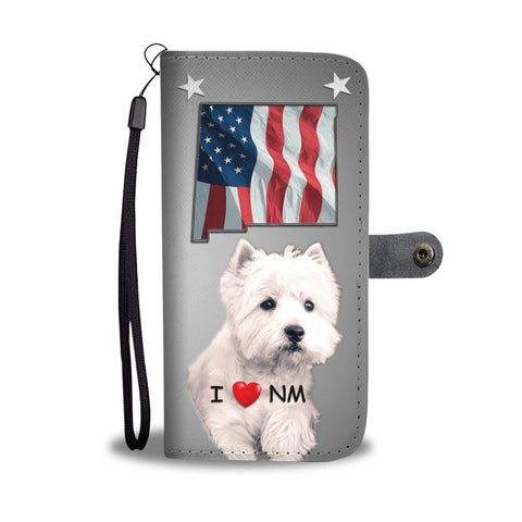 West Highland White Terrier Print Wallet CaseNM State