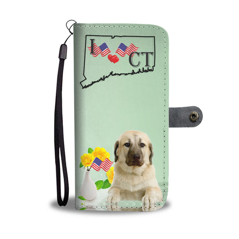 Anatolian Shepherd Print Wallet CaseCT State