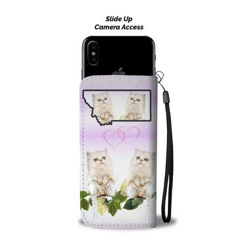 Persian Cat Print Wallet CaseMT State