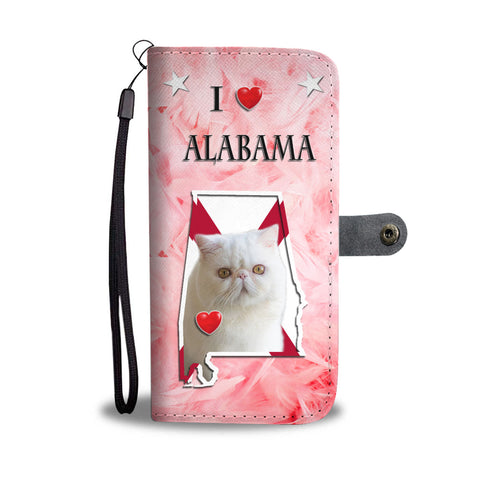 Exotic Shorthair Cat Print Wallet CaseAL State