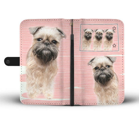 Brussels Griffon Print Wallet CaseCO State