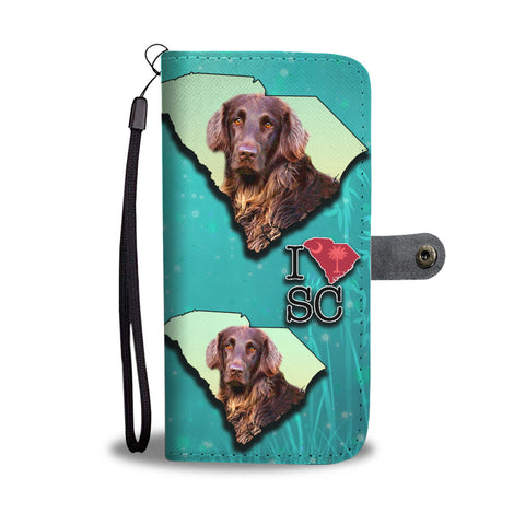 German Longhair Dog Print Wallet CaseSC State