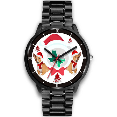 Basenji Dog Texas Christmas Special Wrist Watch