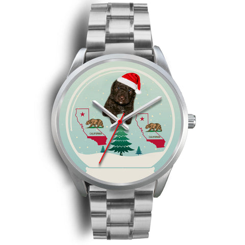 Spanish Water Dog California Christmas Special Wrist Watch
