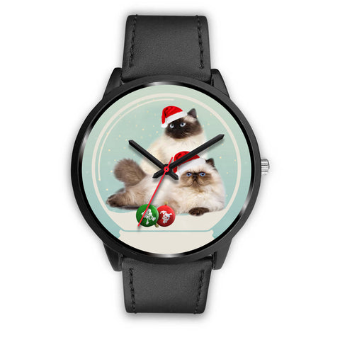Himalayan Cat Christmas Special Wrist Watch