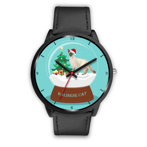Balinese Cat Christmas Special Wrist Watch