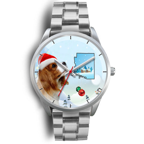 Cavalier King Charles Spaniel Arizona Christmas Special Wrist Watch