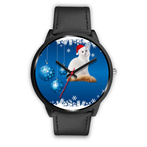 Turkish Van Cat Christmas Special Wrist Watch