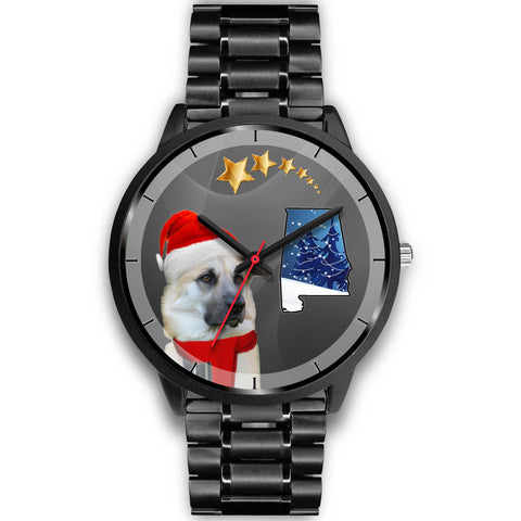 Chinook Dog Alabama Christmas Special Wrist Watch