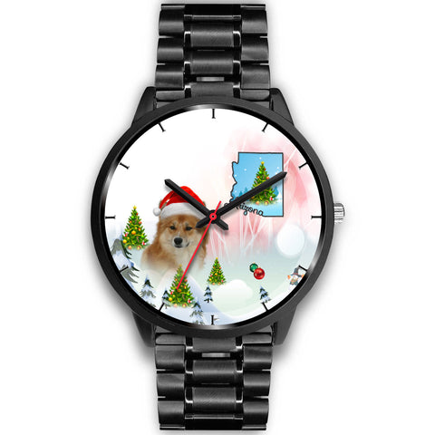 Icelandic Sheepdog Arizona Christmas Special Wrist Watch