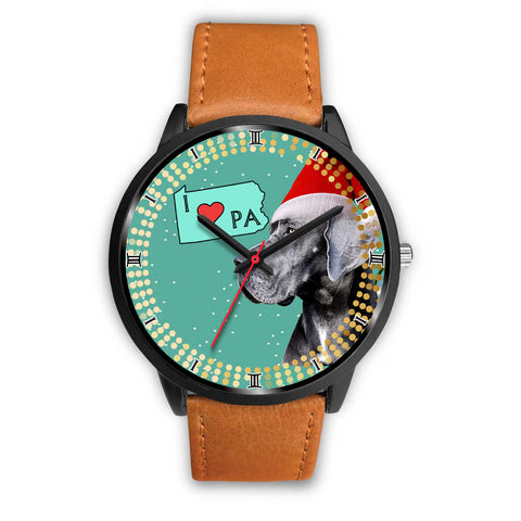 Amazing Great Dane Dog Pennsylvania Christmas Special Wrist Watch