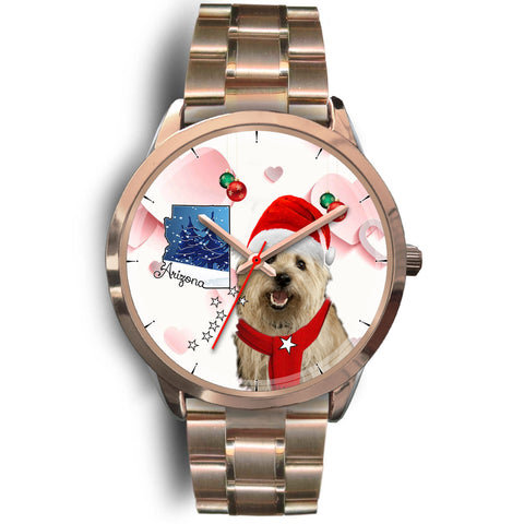 Cairn Terrier Arizona Christmas Special Wrist Watch