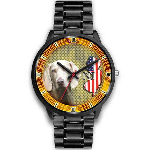 Weimaraner Dog New Jersey Christmas Special Wrist Watch