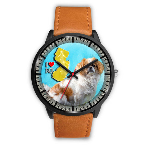 Cute Japanese Chin Dog New Jersey Christmas Special Wrist Watch