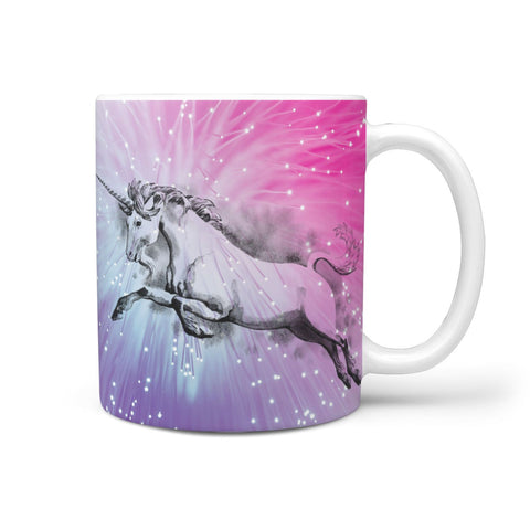 Unicorn Print 360 White Mug