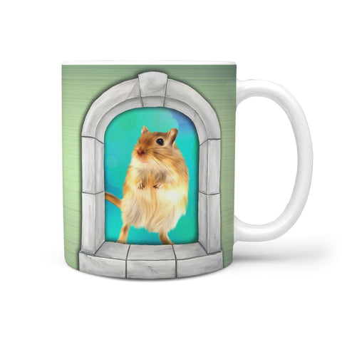 Lovely Golden Hamster Print 360 Mug