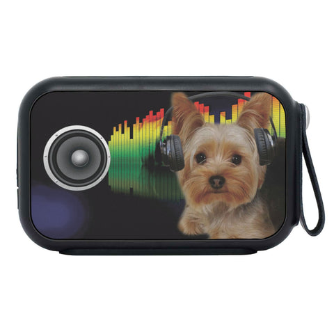 Yorkshire Terrier (Yorkie) Print Bluetooth Speaker