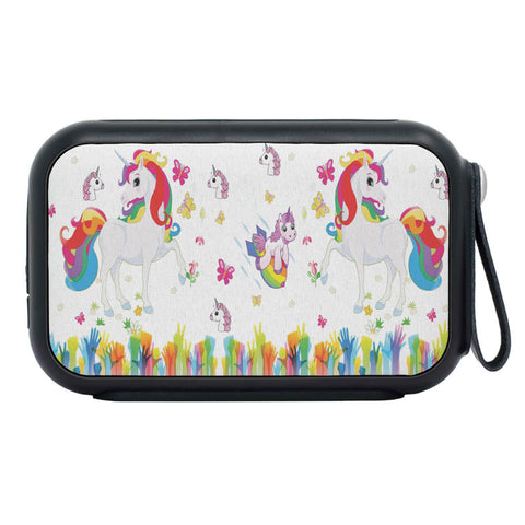 Happy Unicorns Print Bluetooth Speaker