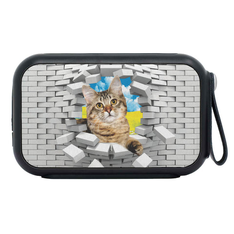 American Bobtail Cat Print Bluetooth Speaker