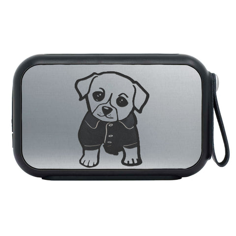 Cute Dog Print Bluetooth Speaker