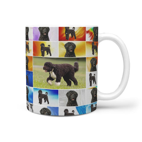 Portuguese Water Dog Print 360 White Mug