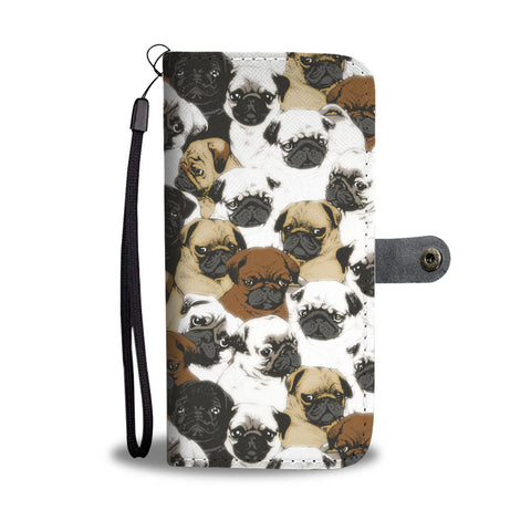 Awesome Pug Wallet Case