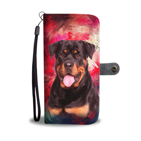 Rottweiler Dog Wallet Case