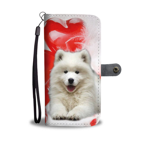 Samoyed Dog Wallet Case