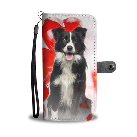 Border Collie Wallet Case