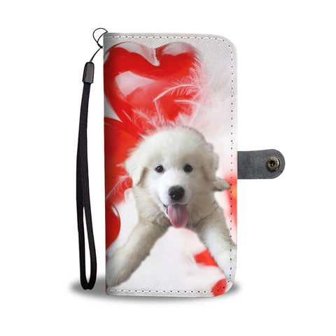 Great Pyrenees Puppy Wallet Case