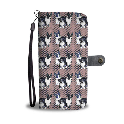 Cardigan Welsh Corgi 2nd Pattern Print Wallet Case