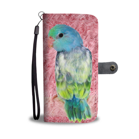 Parrotlets Bird Print Wallet Case