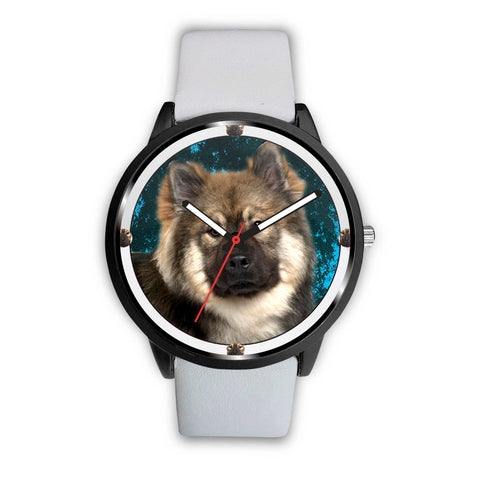 Eurasier Dog Print Wrist Watch