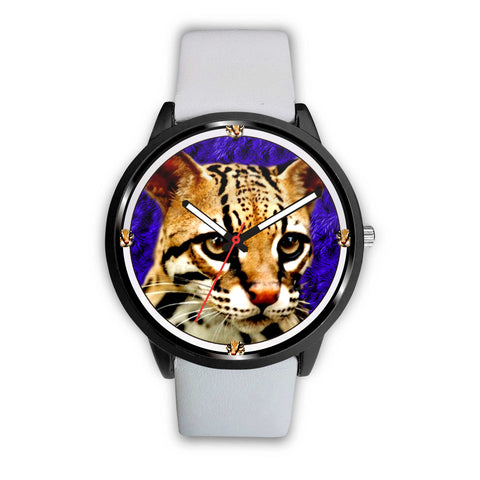 Lovely Cheetoh Cat Print Wrist Watch