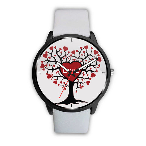 Love Tree Print Wrist Watch