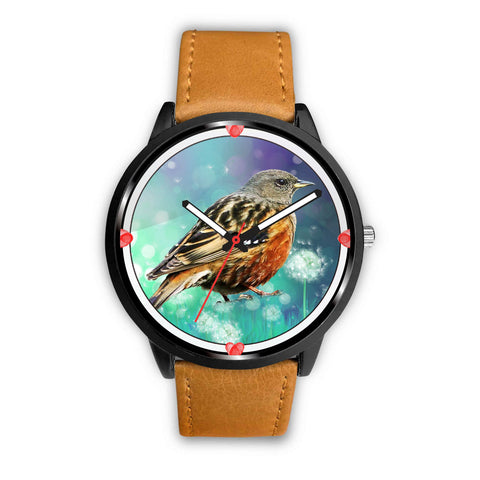 Accentor Bird Print Wrist Watch