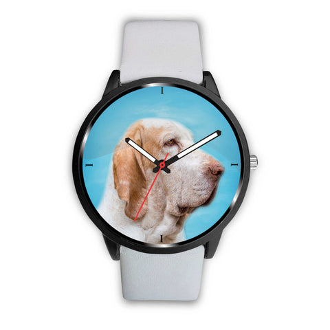 Bracco Italiano Dog Print Wrist Watch