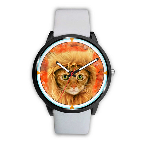 Lovely Bengal Cat Print Wrist Watch
