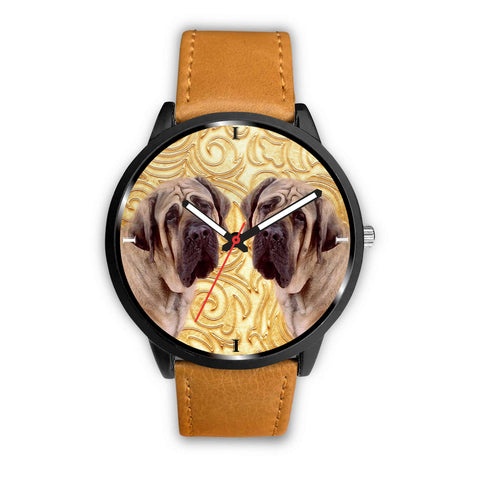 English Mastiff Dog Print Wrist Watch