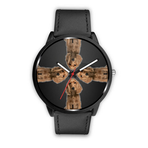 English Cocker Spaniel Print Wrist Watch