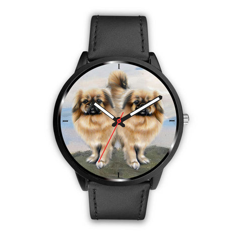 Awesome Tibetan Spaniel Dog Print Wrist Watch