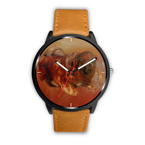 Tibetan Mastiff Print Wrist Watch