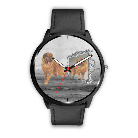 Leonberger Dog Print Wrist Watch