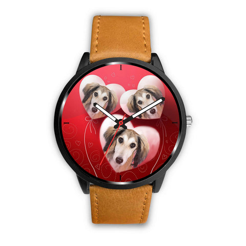 Saluki dog Print Wrist Watch