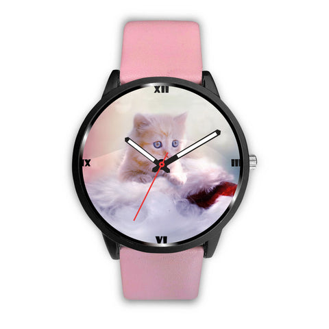 Cute Kitten Print Wrist Watch