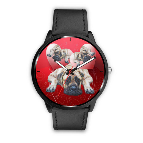 Amazing English Mastiff Dog Print Wrist Watch