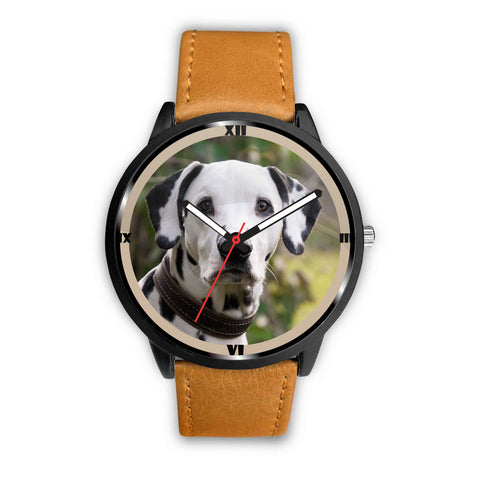 Lovely Dalmatian Dog Print Wrist Watch
